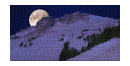 il Pianeta Luna che sorge