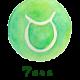 simbolo del Segno del Toro