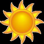Sole stilizzato