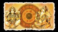 Ganesh e la Ruota Astrologica